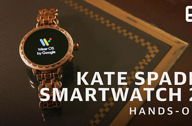 Kate Spade's second Wear OS watch gets a serious tech upgrade