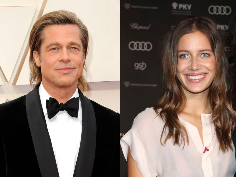 Brad Pitt S New Model Girlfriend Nicole Poturalski May Be In An Open Marriage