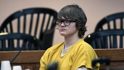 Teen who killed his dad and 6-year-old boy sentenced
