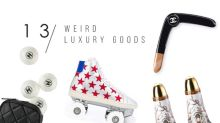 除了鞋和袋,這些高級品牌還推出了一系列令人意想不到的產品,你會有興趣買嗎?