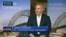 Corporate Travel Management discusses its business targets