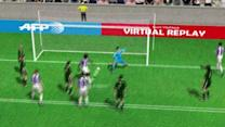 Manucho's 1st goal against Real Madrid in 3D