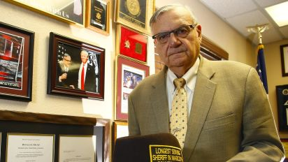 Pardoned by Trump, 87-year-old Arpaio eyes old gig