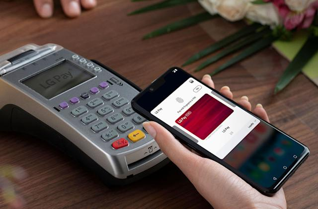 LG is shutting down its mobile payments service