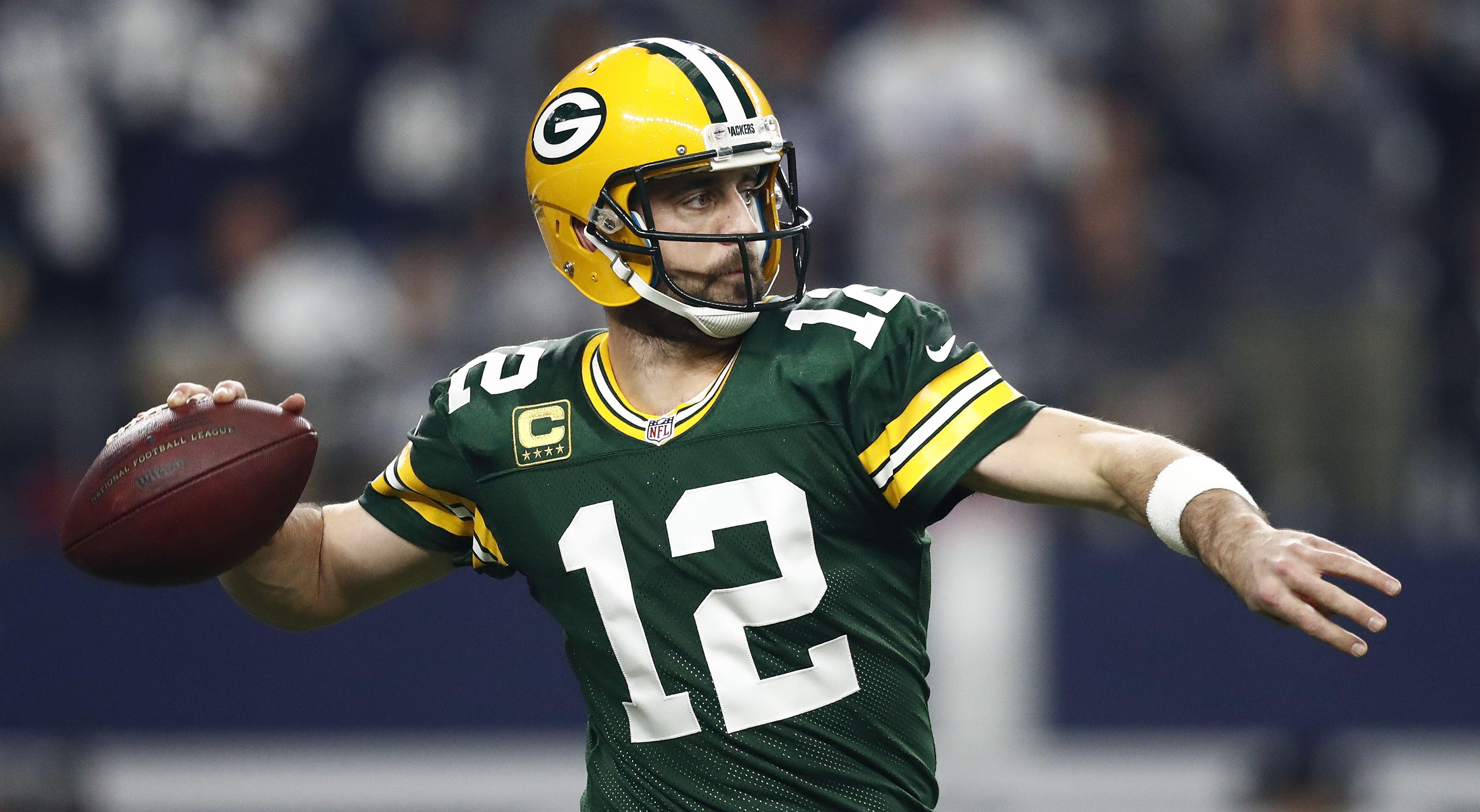 Aaron Rodgers, 2-Time NFL MVP, Huddles Up With CAA Sports Off The Field