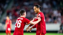 Virgil van Dijk pays thanks to Liverpool and family after friendly comeback