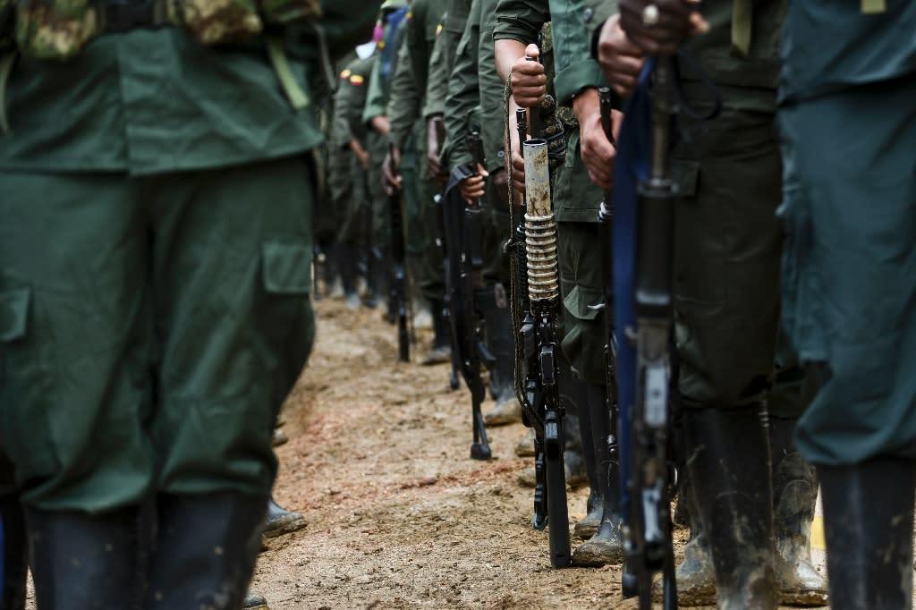 Colombia FARC rebels start demobilization process