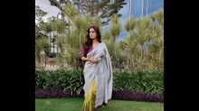 Dia Mirza's Colour-Blocked Sari Is Meant For Ladies Who Want To Look Simply Extraordinary