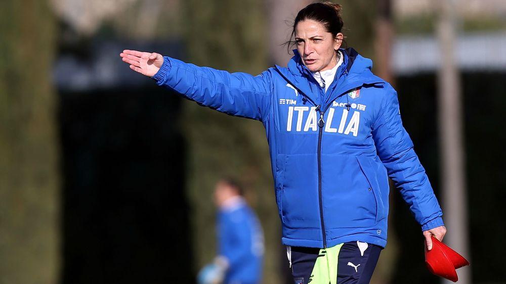 Italiens U16-Nationalmannschaft setzt auf Trainerin