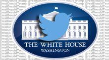 White House embraces @realDonaldTrump, not @POTUS. Sad!