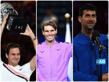 A decade in numbers: The extraordinary Grand Slam dominance of Novak Djokovic, Rafael Nadal, Roger Federer over the past 10 years