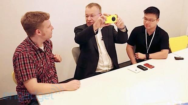The Engadget Interview: Nokia's Stephen Elop on the Lumia 1020