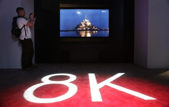 The first 8K satellite TV broadcasts are live in Japan