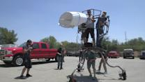 How to Make a Giant Creature - Watch the Full-Body Mechanics of the 2,000-Pound Giant Creature in Action