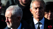 Tony Blair blasts Jeremy Corbyn as he says it is 'gut-wrenching' that Labour isn't calling for second Brexit vote