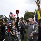 Proud Boys rally in Portland draws only about 200 after city braced for thousands