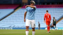 Sergio Aguero will miss Manchester City's season opener as he continues recovery
