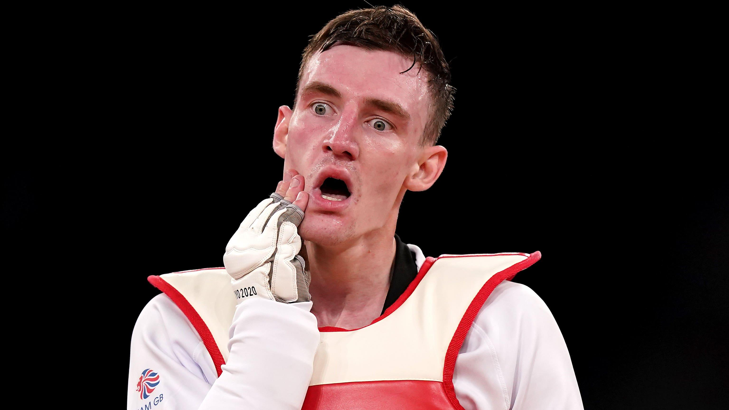 Bradly Sinden disappointed with Olympic debut silver after last-gasp final loss