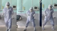 'I wanted to keep the morale up': five pandemic dance videos that won the internet