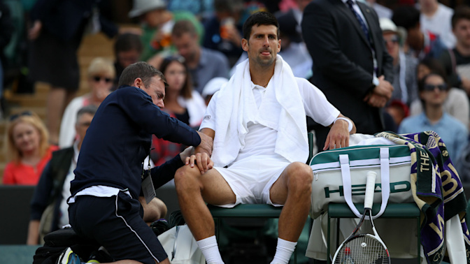 Novak Djokovic done for 2017 season with elbow injury