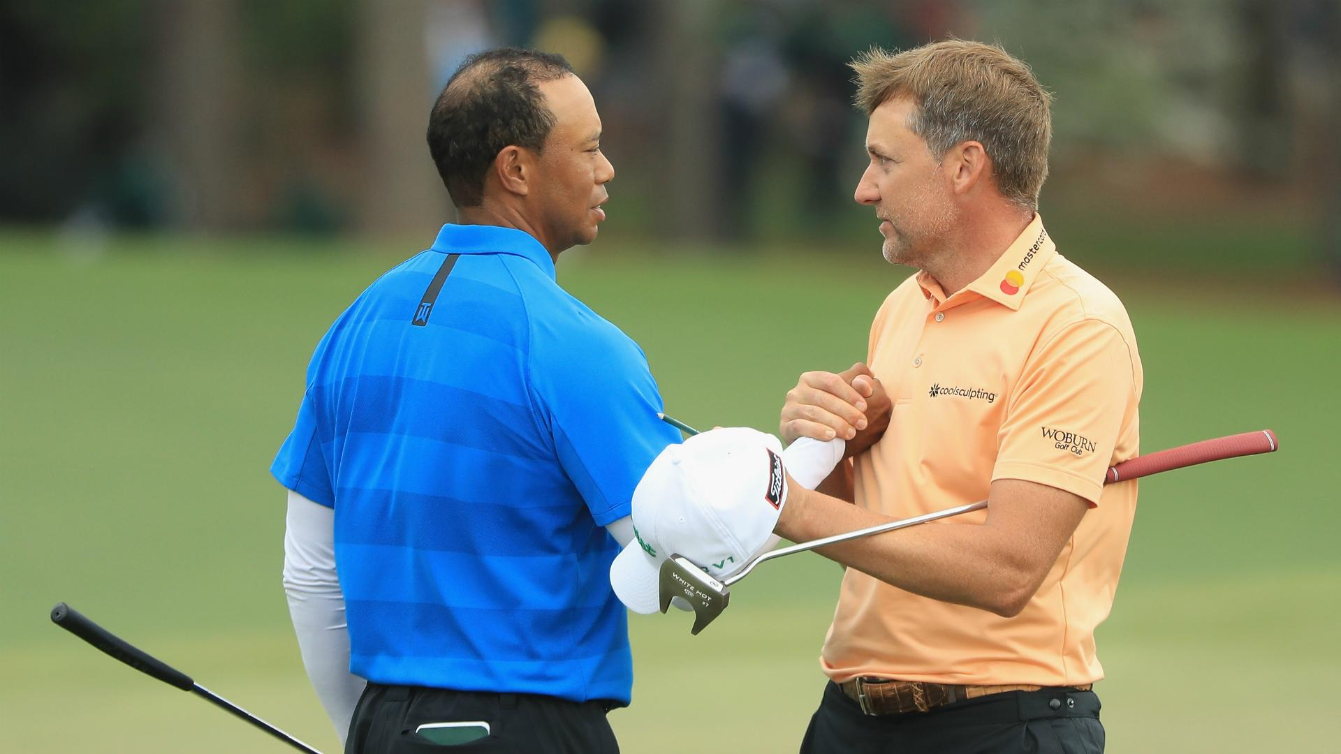 Woods winning 'incredibly special for golf', says Poulter
