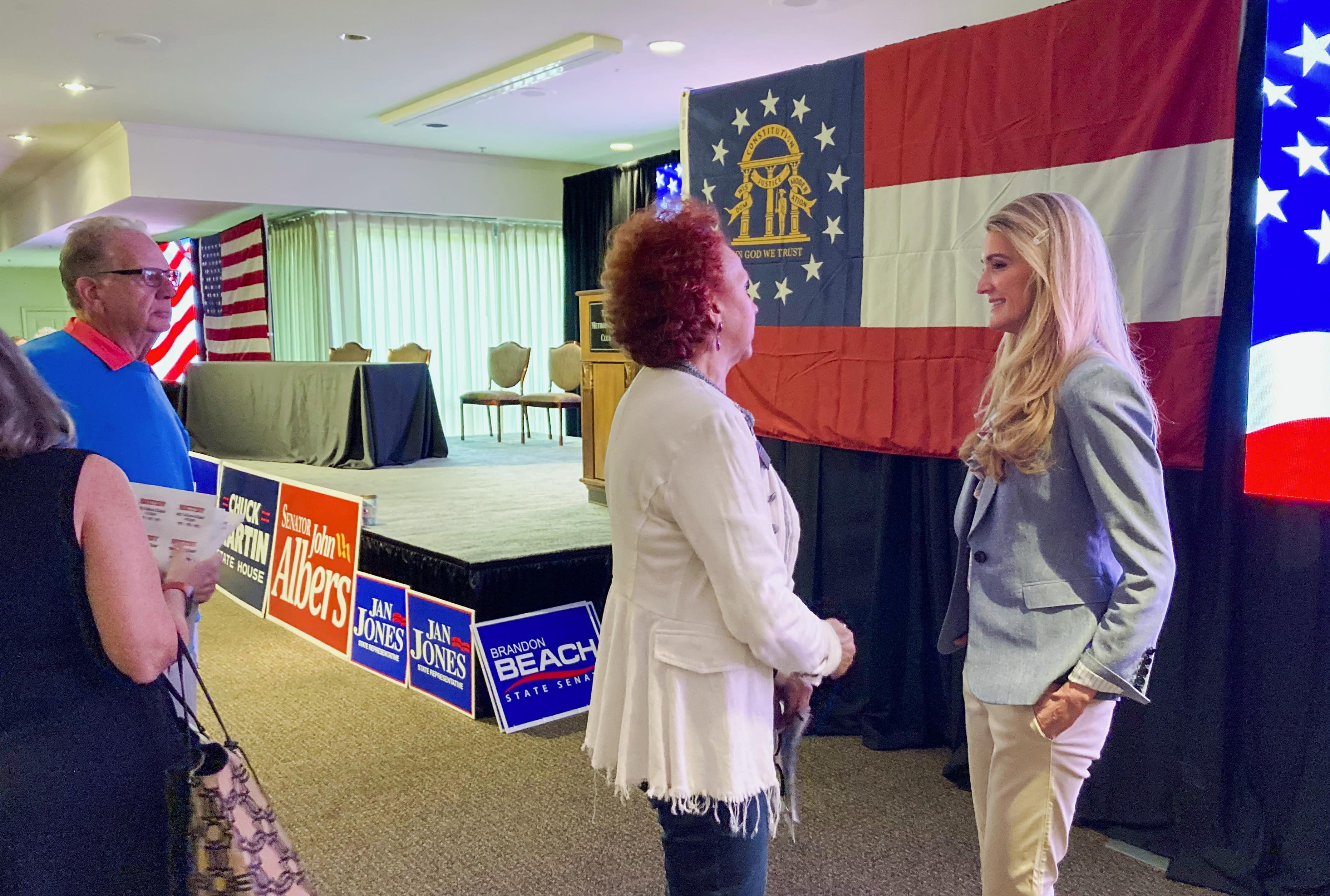 Trump loyalists aim to test Georgia's GOP governor