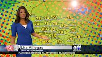 AM Weather Update With Lisa Villegas