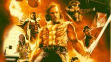 Un poster parodia a Los últimos Jedi con los músculos que le faltan ¡y nos encanta!