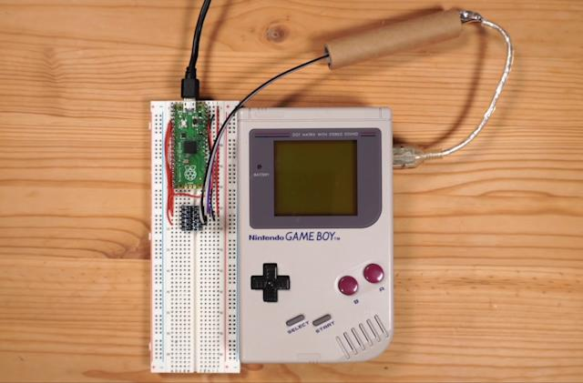 A hacker added online multiplayer to the Game Boy version of Tetris