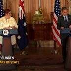 Blinken says Israel has right to defend itself