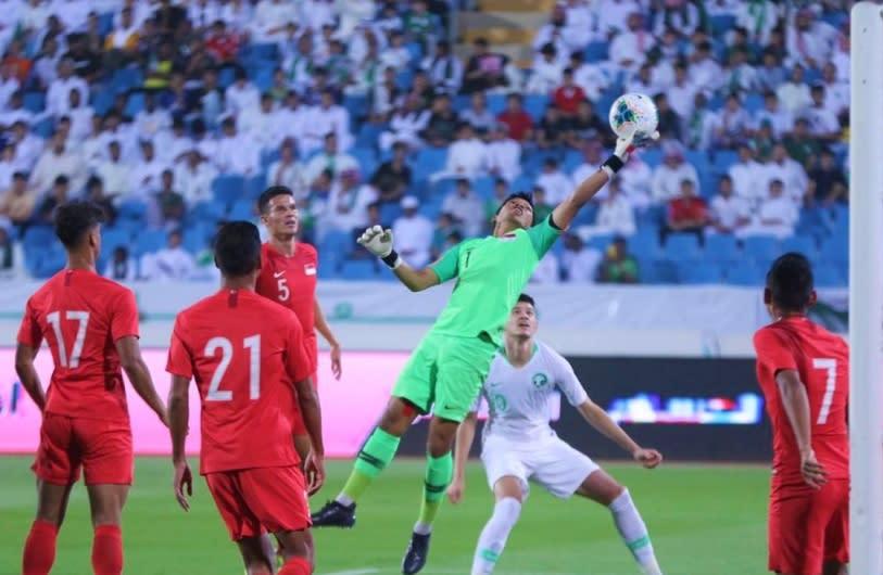 Lions fall 0-3 to Saudi Arabia despite goalkeeping heroics from Izwan Mahbud