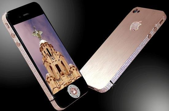 Stuart Hughes strikes again with world's most expensive, diamond covered iPhone 4