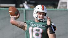 Tate Martell to reportedly consider switching to wide receiver for Miami
