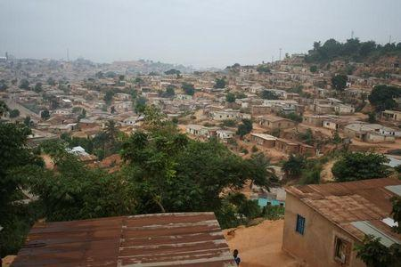 General view of the capital of AngolaÕs Cabinda province, the impoverished territory that accounts for half of the oil output from AfricaÕs top petroleum producer