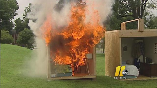 New college students learn fire safety