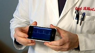 IPhone Case Turns Phone Into Heart Monitor