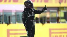 Lewis Hamilton edges out Valtteri Bottas to claim Tuscan Grand Prix pole