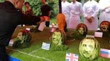 Can you guess who the World Cups stars are in these watermelons