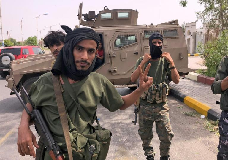 The seizure of Yemen's second city Aden by southern separatists trained by the United Arab Emirates has exposed divisions between Abu Dhabi and Riyadh over their four and a half year military intervention (AFP Photo/Nabil HASAN)