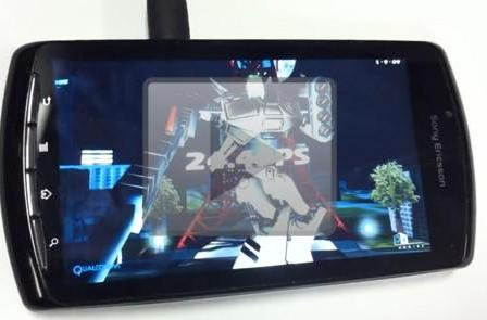 PlayStation Phone prototype video reveals 3D benchmark results