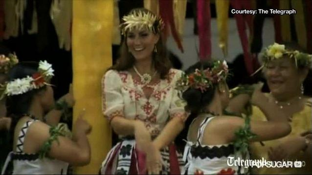 Video: See Kate and William Dance in Tuvalu - Who Has Better Moves?