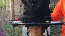 Dad creates real life sorting hat for his two daughters