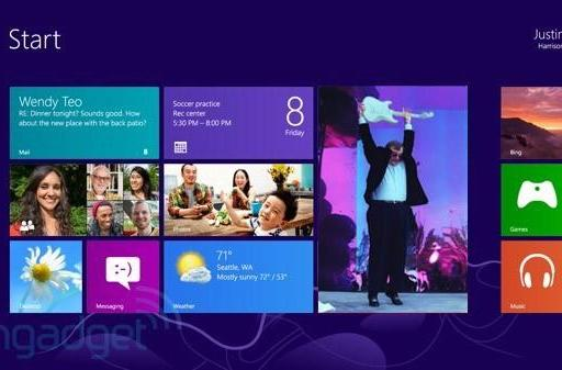 Paul Allen takes a look at Windows 8, finds his ex-workmates mostly doing well
