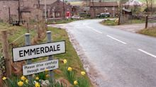 Two-metre poles and temperature checks being used to film Emmerdale