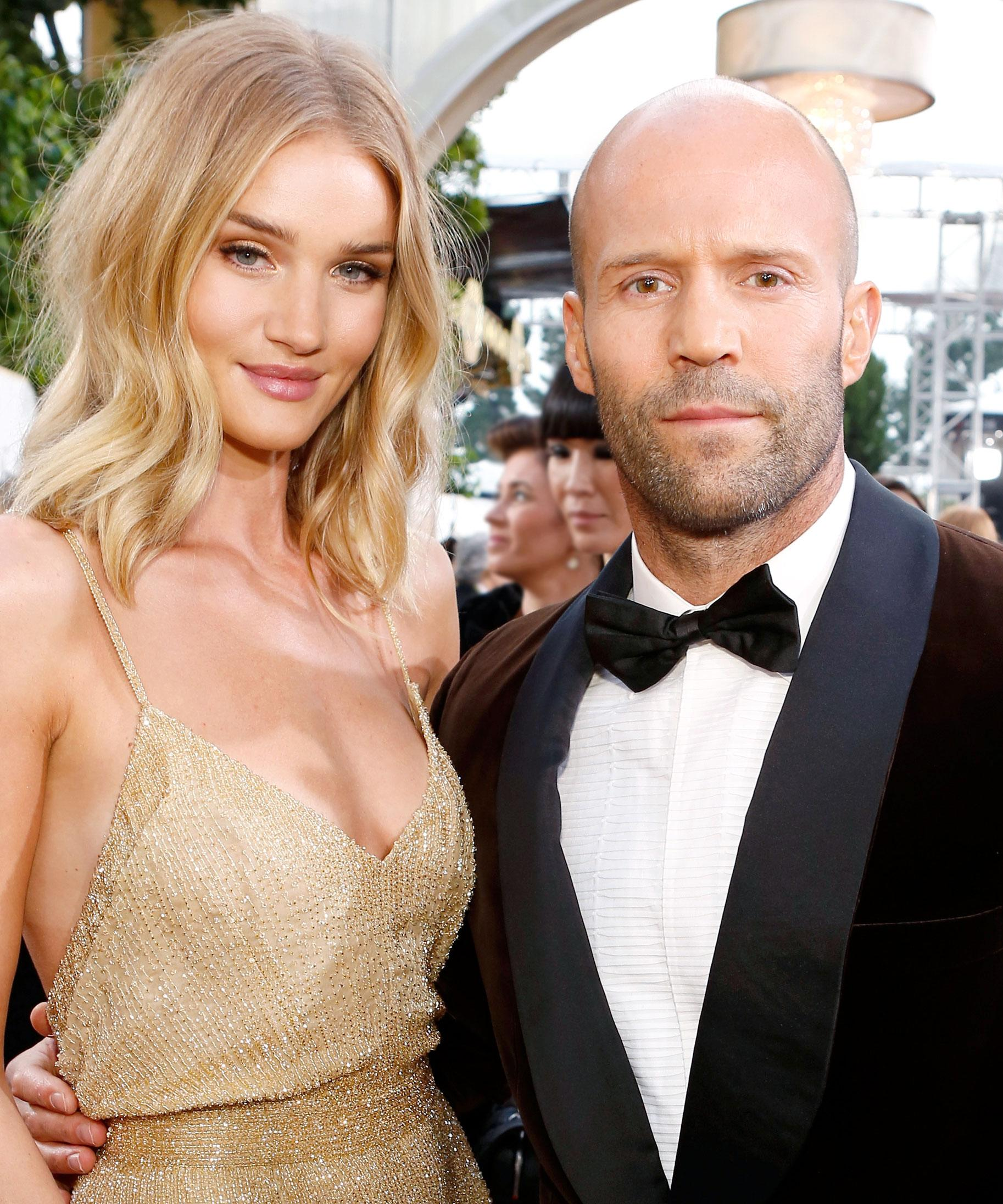 Rosie Huntington Whiteley And Jason Statham Are Parents See The Adorable First Photo