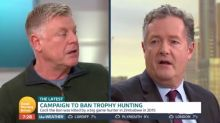Piers Morgan praised after offering to 'skin' trophy hunter alive
