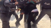 Israeli Police Use Tasers, Pepper Spray on Protesters Defending West Bank Bedouin Village