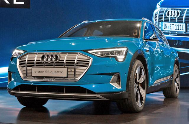 Audi delays E-Tron SUV by a month over software updates