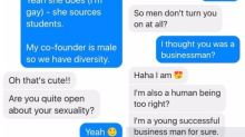 'Men don't turn you on at all?' Teen asks tech entrepreneur for career advice, he wants to know about her sexuality