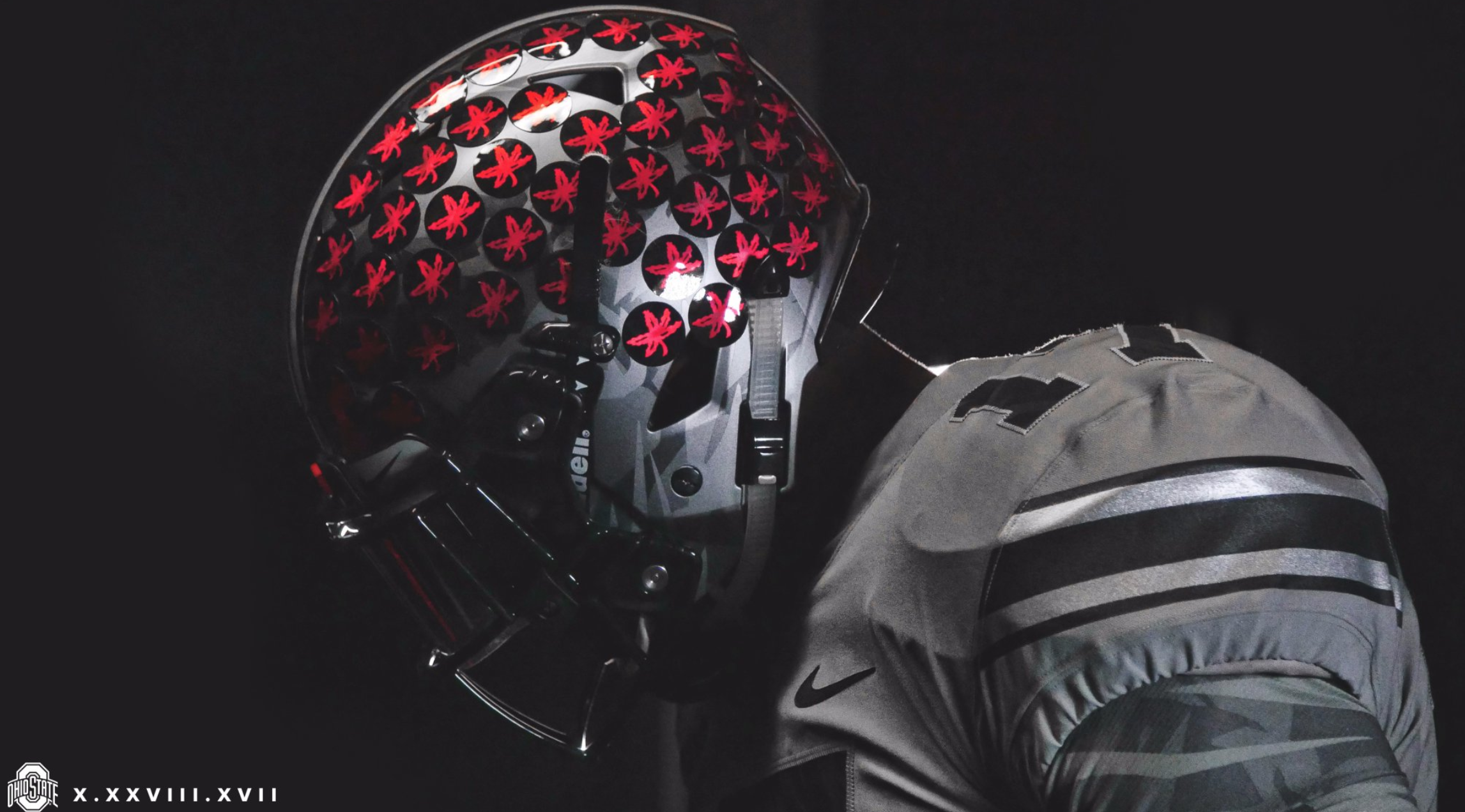 sports shoes 703bd 26f12 Ohio State to wear gray uniforms, black helmets vs. Penn State